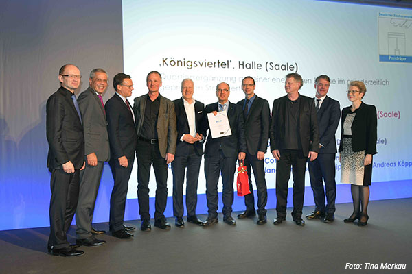 Verleihung Bauherrenpreis