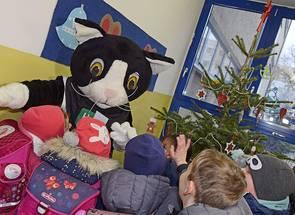 Spendenübergabe Grundschule Silberwald