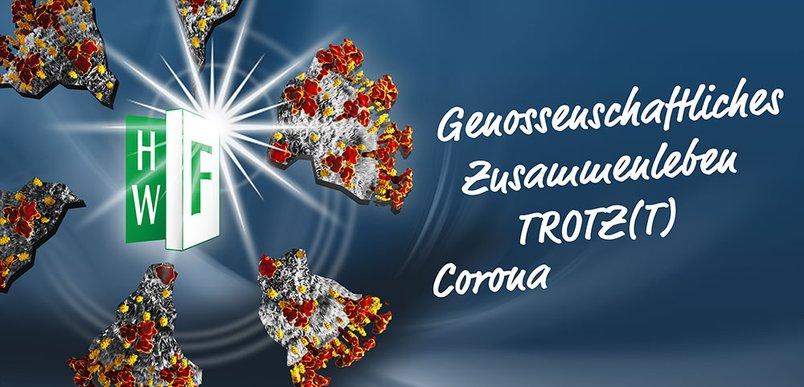 Sprengung Coronavirus