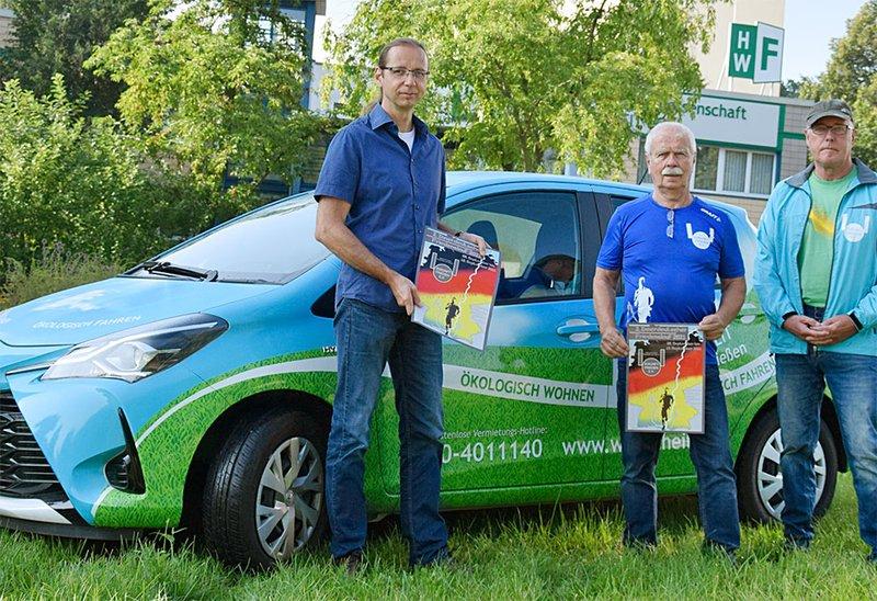 Übergabe Hybrid-Fahrzeug
