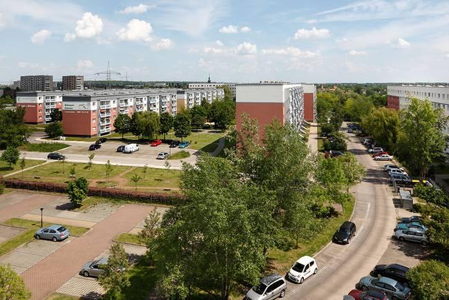 Der Wohnpark Elsteraue: 2-Raum-Wohnung Am Hohen Ufer 34