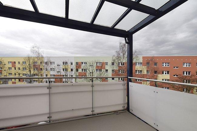 Balkon: 2-Raum-Wohnung Linzer Straße 25