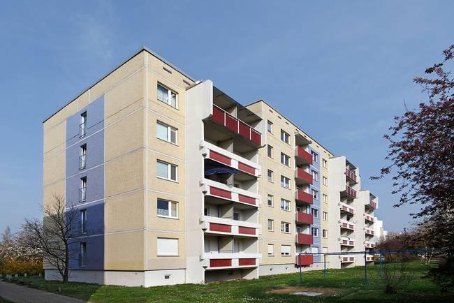 Hausansicht: 1-Raum-Wohnung Weißenfelser Straße 49