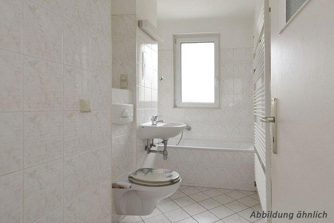 Bad: 2-Raum-Wohnung Vogelweide 66