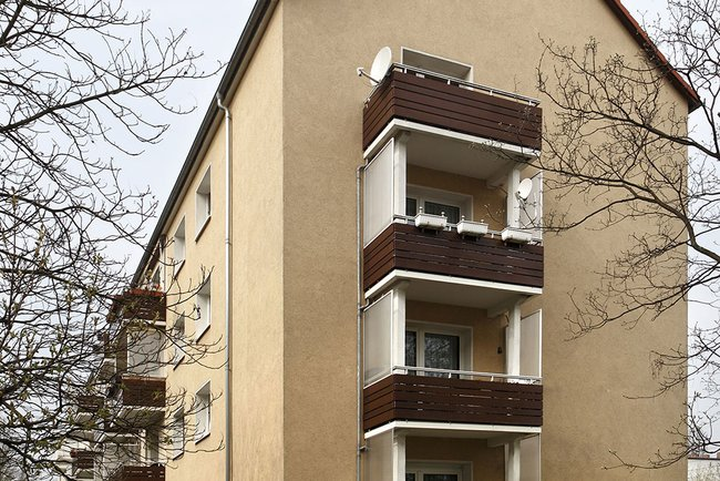 Hausansicht: 3-Raum-Wohnung Vogelweide 50