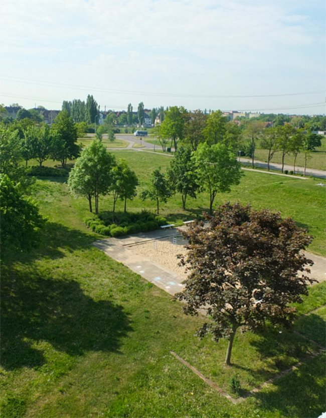 Ausblick: 2-Raum-Wohnung Am Rosengarten 83c