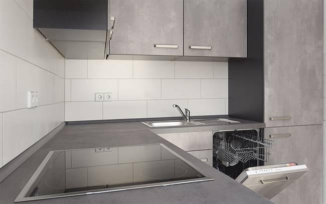 Küche: 3-Raum-Wohnung Genthiner Straße 7