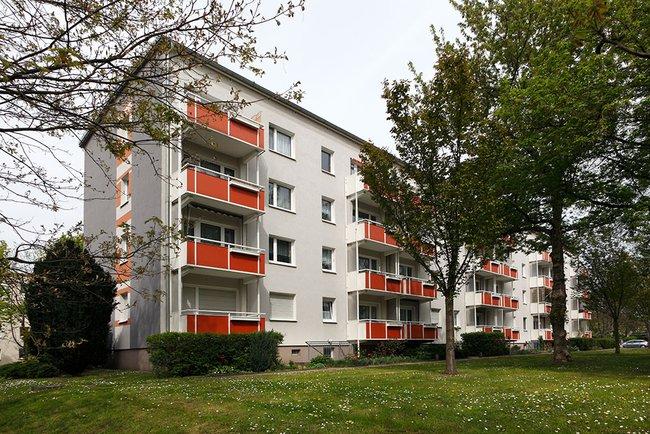 Hausansicht: 2-Raum-Wohnung Victor-Klemperer-Straße 18
