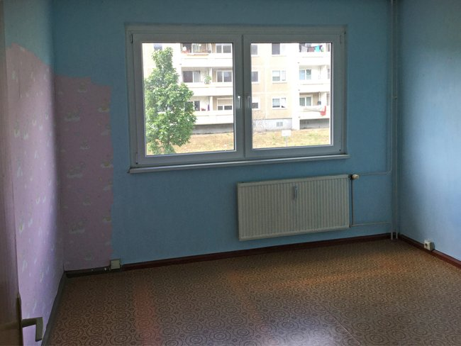 Schlafzimmer: 2-Raum-Wohnung Hanoier Straße 50