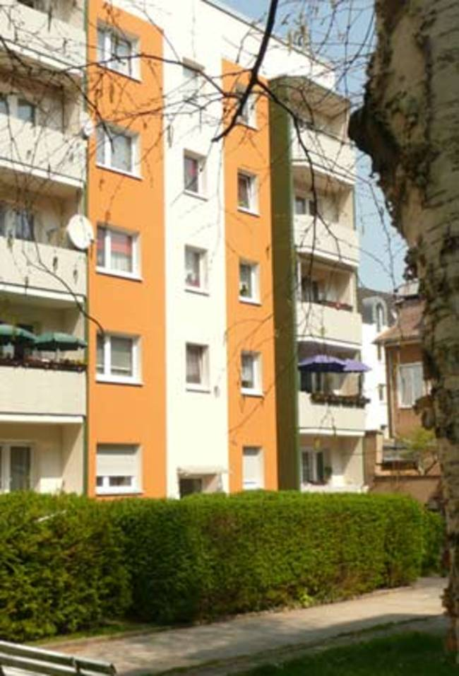 Hofansicht: 3-Raum-Wohnung Schützenstraße 3