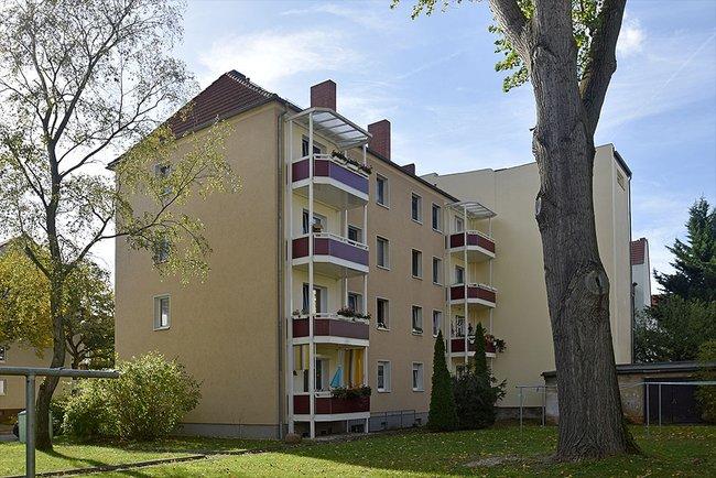 Hofansicht: 3-Raum-Wohnung Ernst-Eckstein-Straße 31