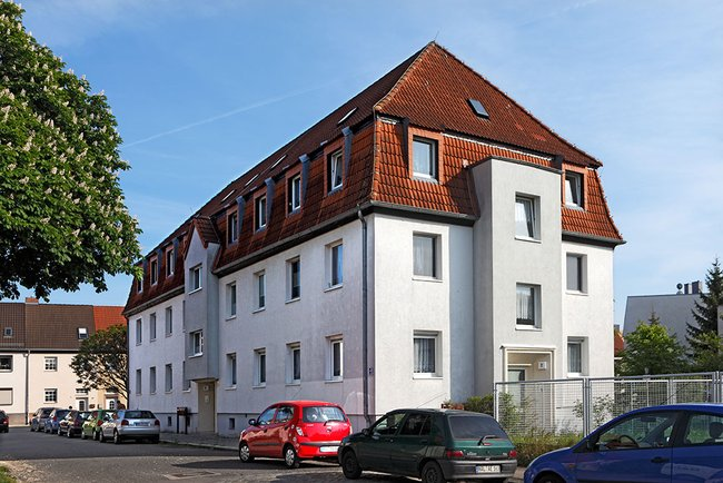 Hausansicht: 3-Raum-Wohnung Homerstraße 1a