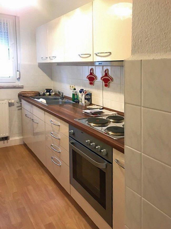 Einbauküche vom Vormieter: 3-Raum-Wohnung Pekinger Straße 28