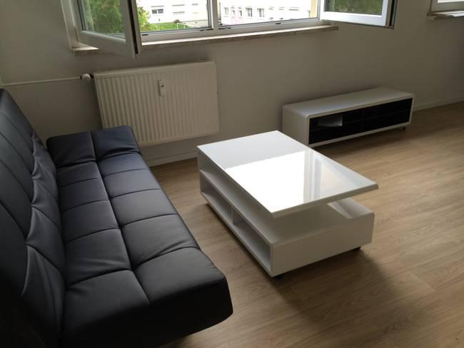 Wohnen: 1-Raum-Wohnung Weißenfelser Straße 23