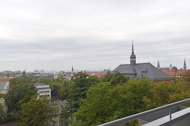 Ausblick: 4-Raum-Wohnung Voßstraße 9