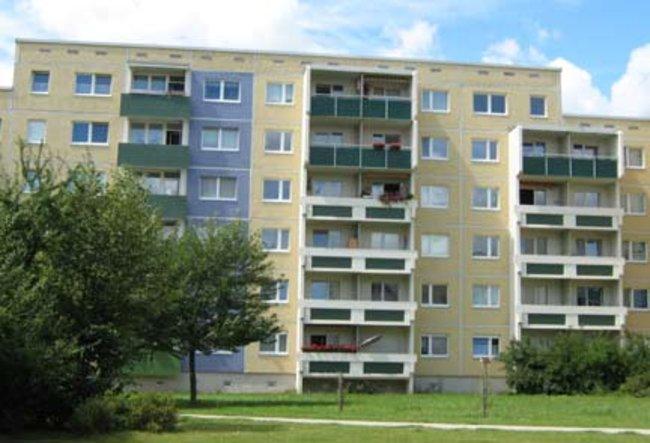 Hofansicht: 2-Raum-Wohnung Weißenfelser Straße 23