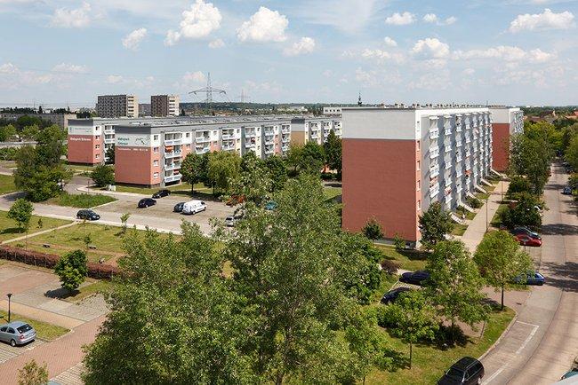 Wohngebiet: 3-Raum-Wohnung Riedweg 25