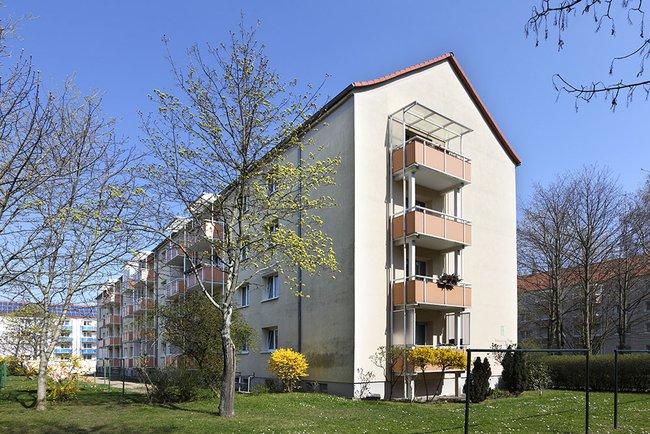 Hausansicht: 2-Raum-Wohnung Bukarester Straße 3