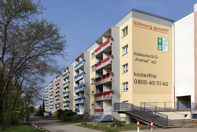 Hausansicht: 3-Raum-Wohnung Genthiner Straße 15