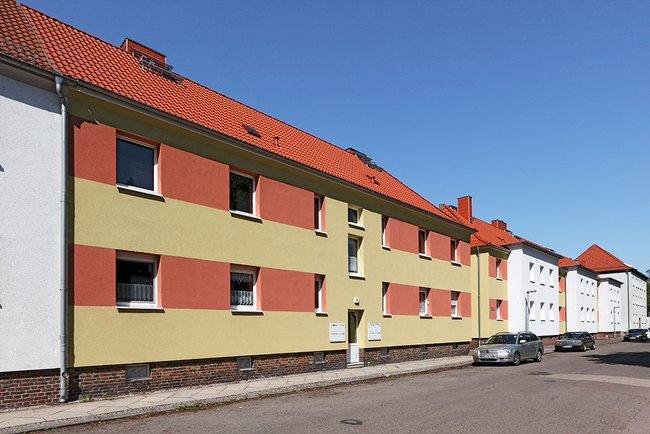Hausansicht: 1-Raum-Wohnung Eugen-Schönhaar-Straße 8