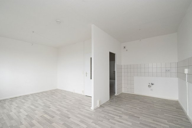 Küchenbereich: 4-Raum-Wohnung Voßstraße 9