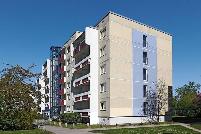 das Haus: 1-Raum-Wohnung Weißenfelser Straße 49