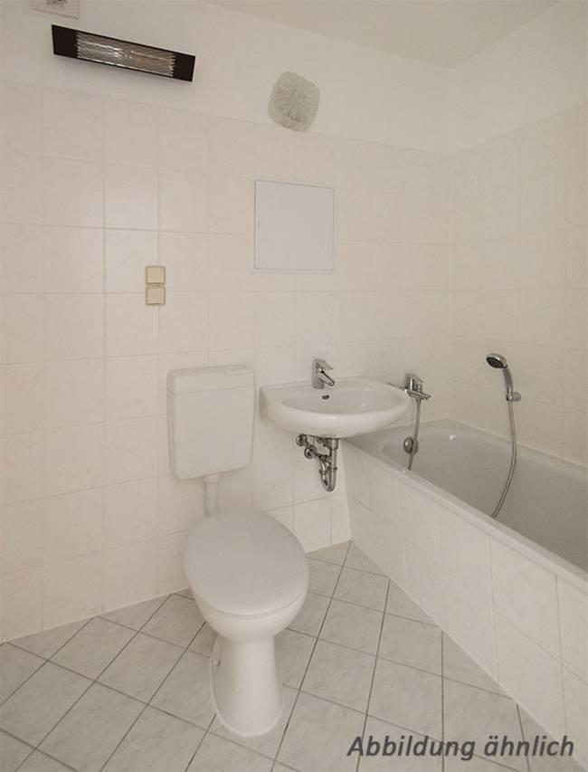 Bad: 2-Raum-Wohnung Salzbinsenweg 6