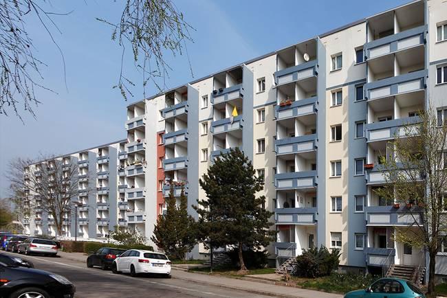 Hausansicht: 2-Raum-Wohnung Am Hohen Ufer 8