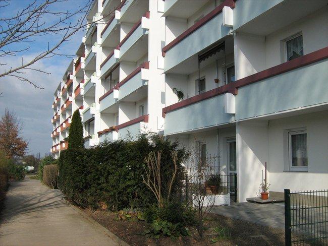 Hausansicht: 3-Raum-Wohnung Lunzbergring 5