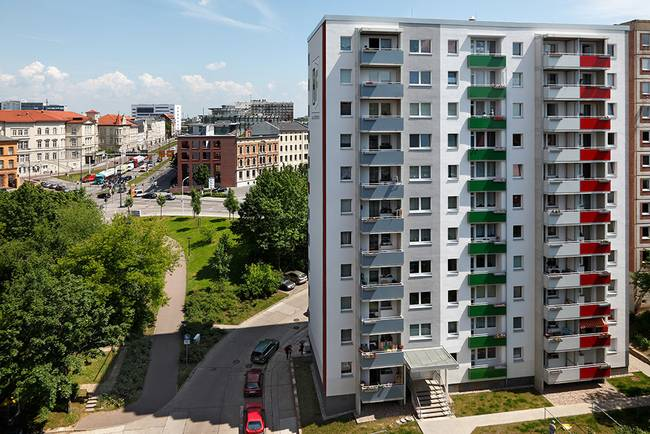 Hausansicht: 3-Raum-Wohnung Voßstraße 7