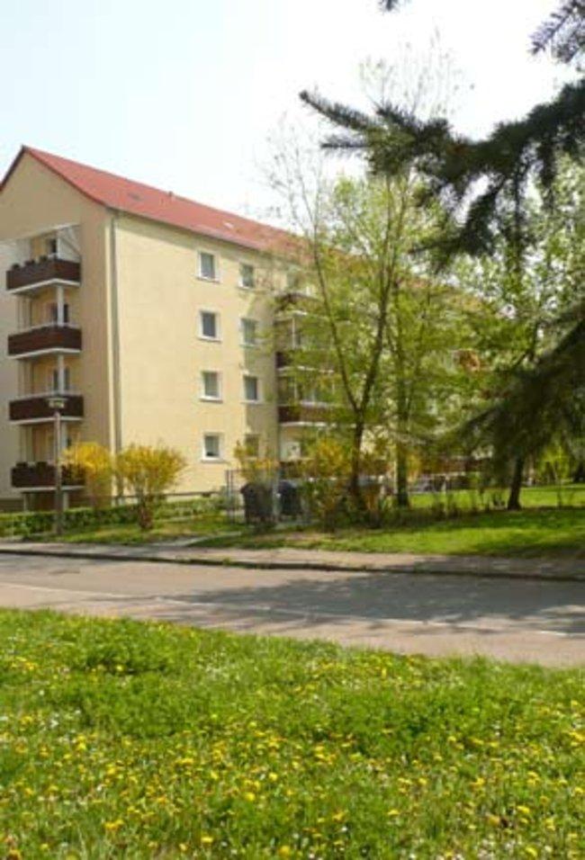 Hausansicht: 3-Raum-Wohnung Rockendorfer Weg 97b