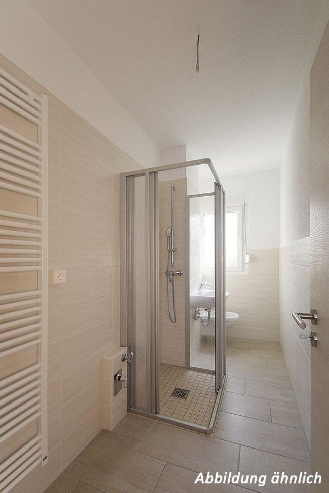 Duschbad: 2-Raum-Wohnung Victor-Klemperer-Straße 18