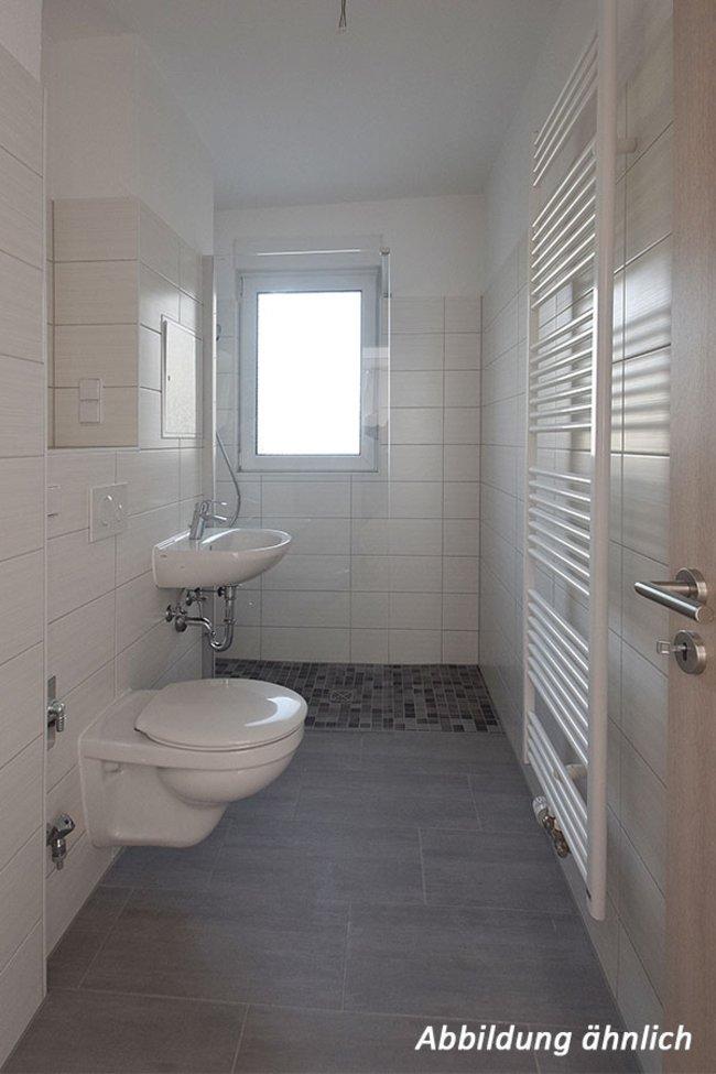 Duschbad: 2-Raum-Wohnung Moskauer Straße 17
