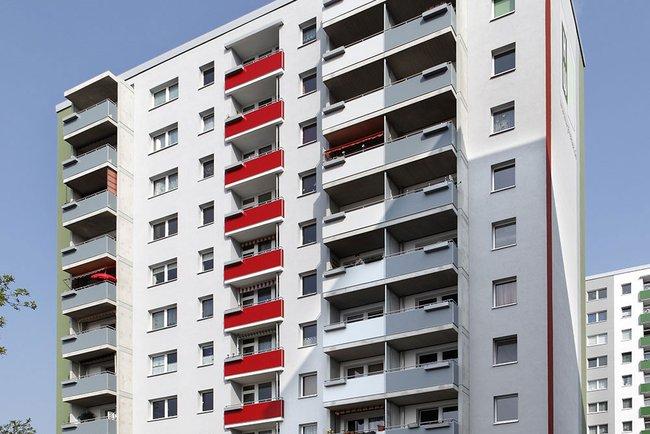 Haus: 4-Raum-Wohnung Voßstraße 9