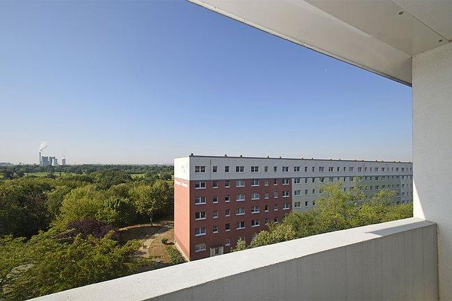 Ausblick: 2-Raum-Wohnung Am Hohen Ufer 9