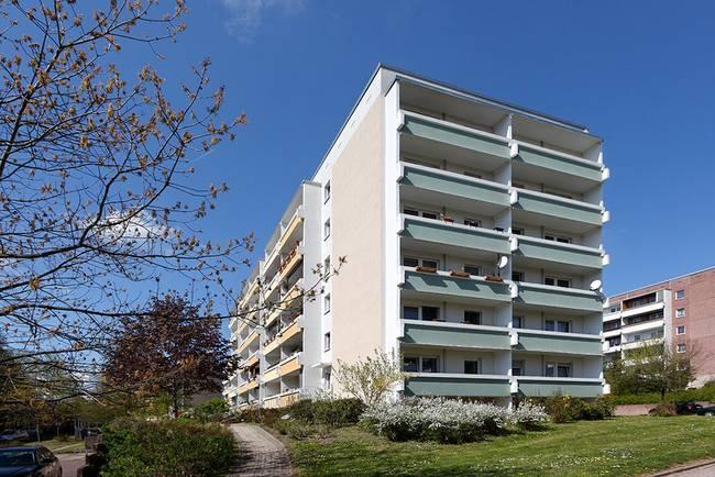 Hausansicht: 2-Raum-Wohnung Lindenweg 7