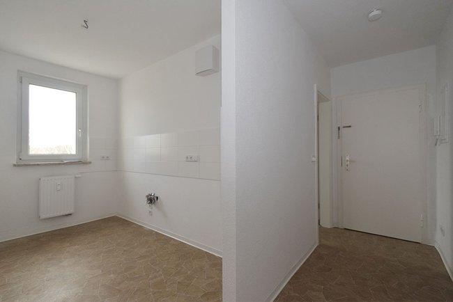 offene Küche: 2-Raum-Wohnung Kurt-Freund-Straße 15