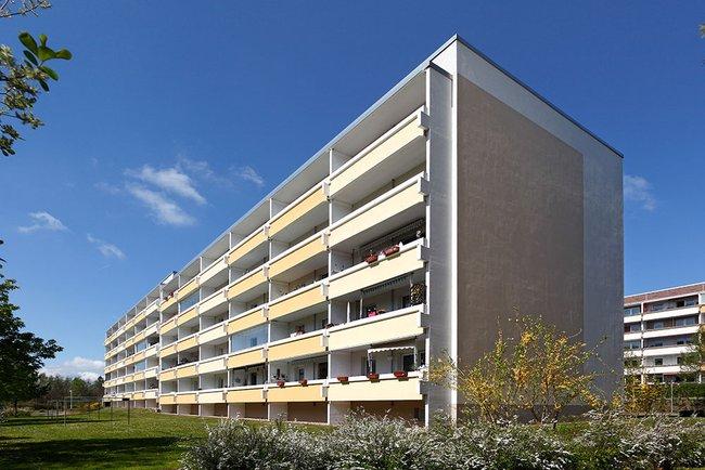 Hausansicht: 2-Raum-Wohnung Lindenweg 4