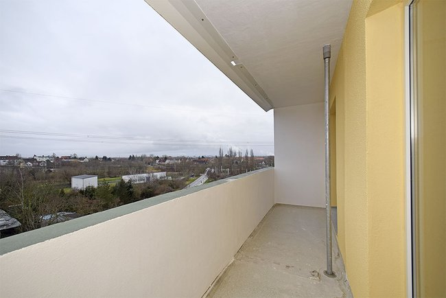 Balkon: 4-Raum-Wohnung Guldenstraße 23