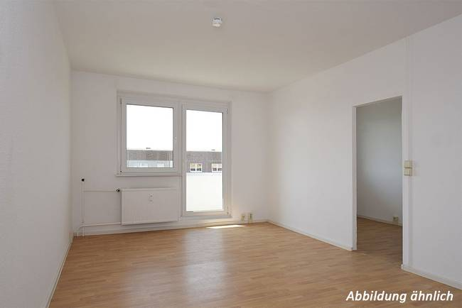 Wohnzimmer: 2-Raum-Wohnung Heidekrautweg 4
