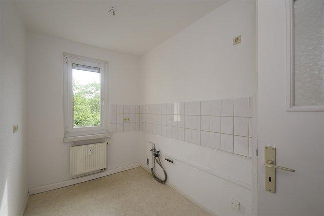 Küche: 2-Raum-Wohnung Plutostraße 8