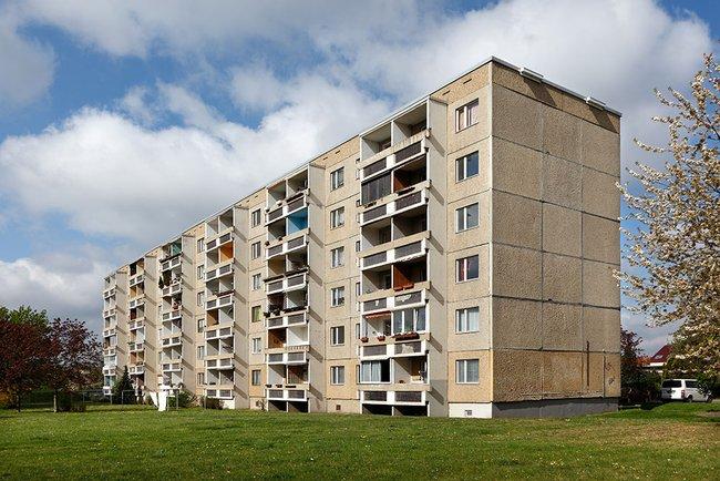 Hausansicht: 2-Raum-Wohnung Am Rosengarten 83c