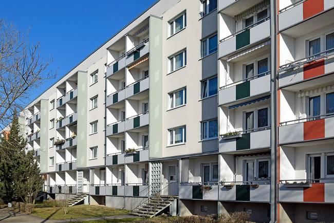 Hausansicht: 3-Raum-Wohnung Südstadtring 27