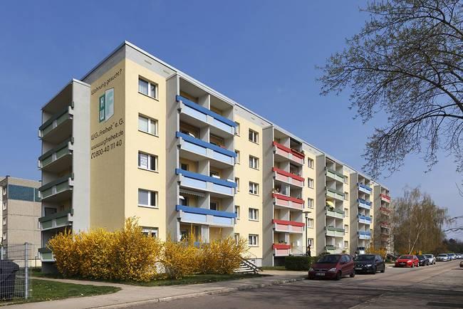 Wohnblock: 3-Raum-Wohnung Guldenstraße 15