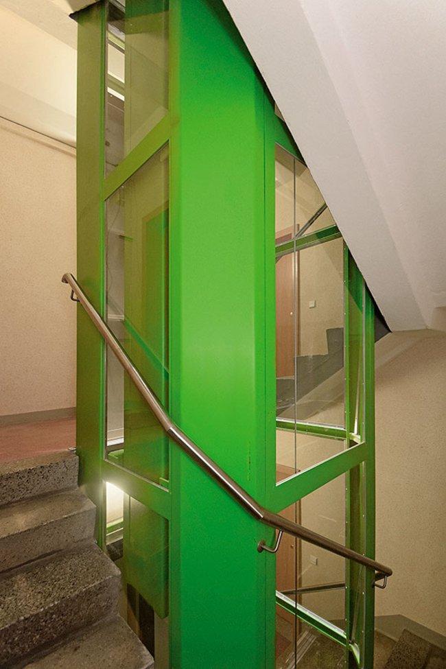 Aufzug: 3-Raum-Wohnung Guldenstraße 15