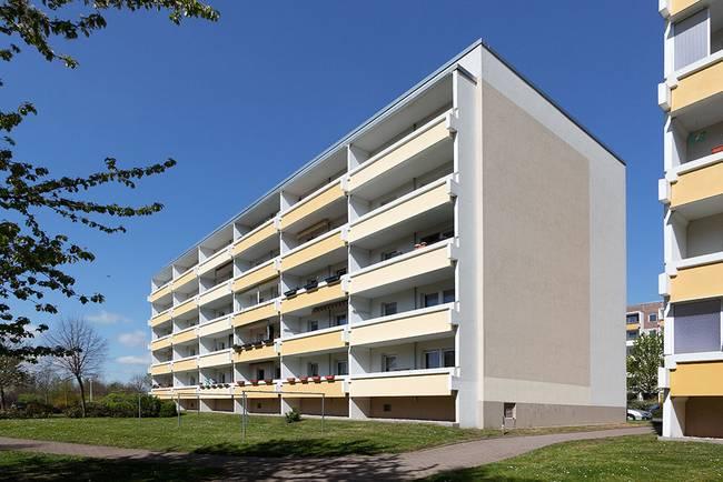Hausansicht: 3-Raum-Wohnung Heidekrautweg 1