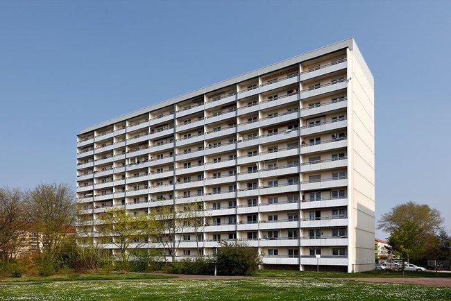 Balkonansichten: 3-Raum-Wohnung Rigaer Straße 10