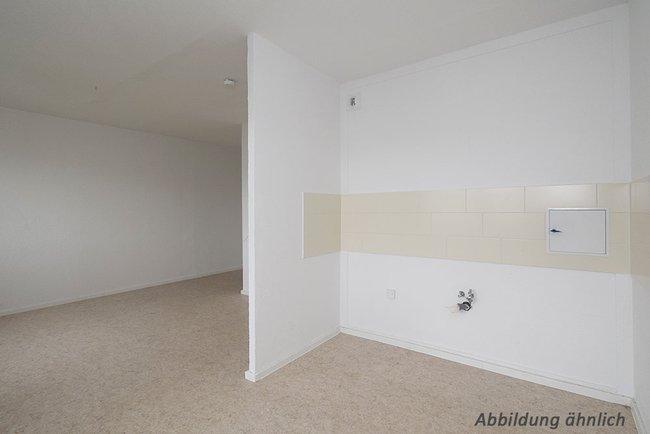 Wohn-Küchenbereich: 1-Raum-Wohnung Weißenfelser Straße 45