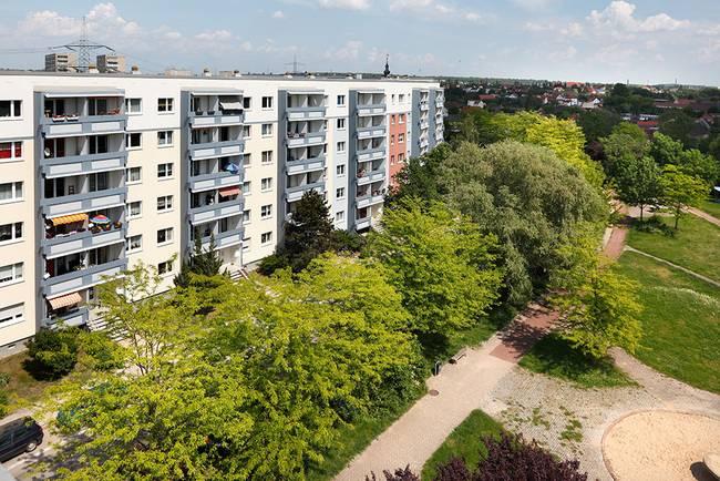 Hausansicht: 4-Raum-Wohnung Am Hohen Ufer 10