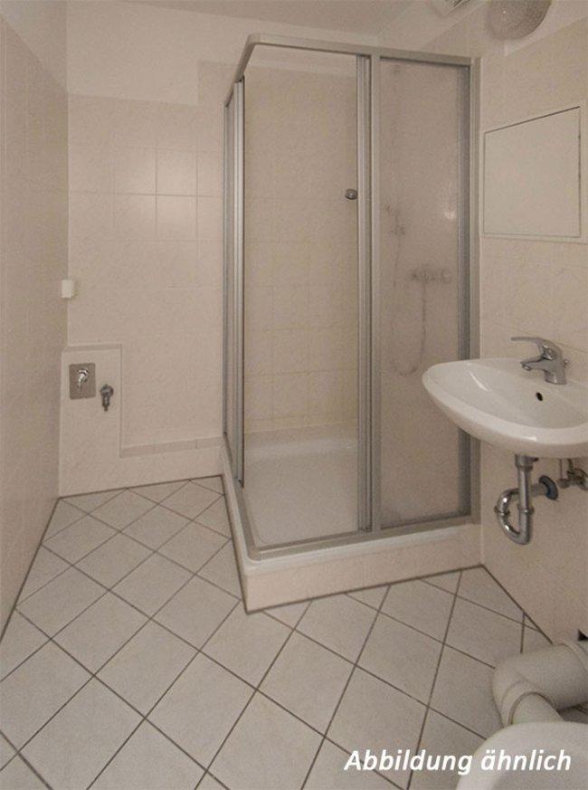 Duschbad: 3-Raum-Wohnung Am Hohen Ufer 27